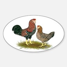 Russian Orloff Chickens Decal