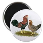 "Russian Orloff Chickens 2.25"" Magnet (100 pac"