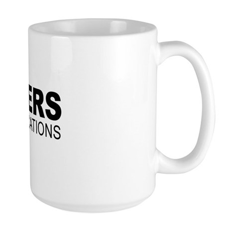 Engineers do it to specifications - Large Mug