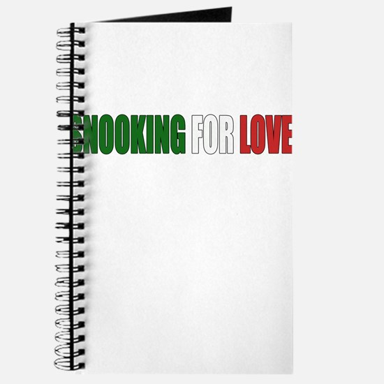 SNOOKING FOR LOVE Journal