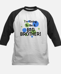 Going To Be Big Brother Kids Baseball Jersey