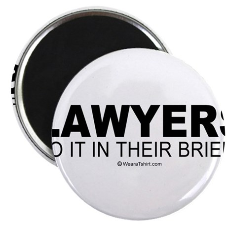 """Lawyers do it in their briefs - 2.25"""" Magnet (10"""