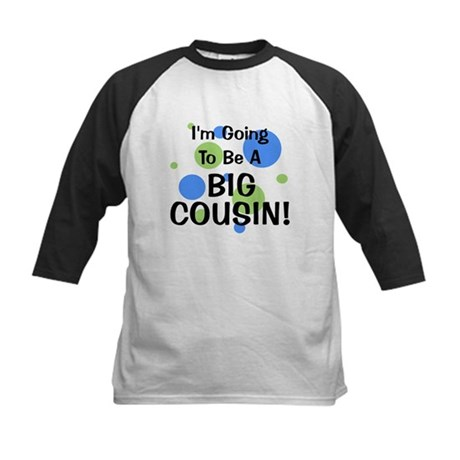 Going To Be Big Cousin! Kids Baseball Jersey