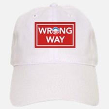 Wrong Way Baseball Baseball Cap