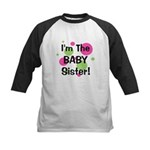 I'm The Baby Sister! Kids Baseball Jersey