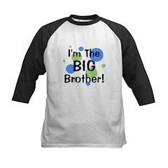 I'm The Big Brother! Kids Baseball Jersey
