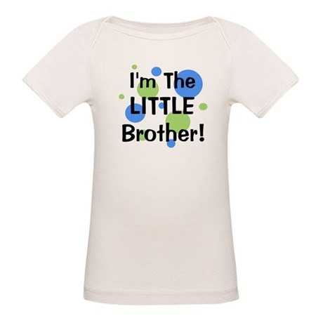 I'm The Little Brother! Organic Baby T-Shirt