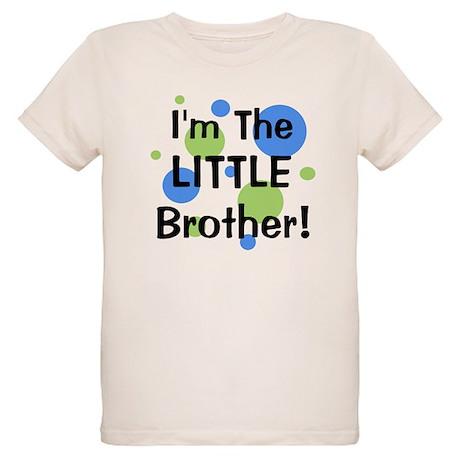 I'm The Little Brother! Organic Kids T-Shirt