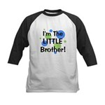 I'm The Little Brother! Kids Baseball Jersey