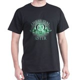 Ovarian cancer sister Dark T-Shirt