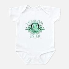 I Wear Teal for my Sister Infant Bodysuit
