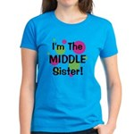 I'm The Middle Sister! Women's Dark T-Shirt