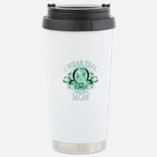 I Wear Teal for my Mom Travel Mug