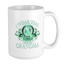 I Wear Teal for my Grandma Mug