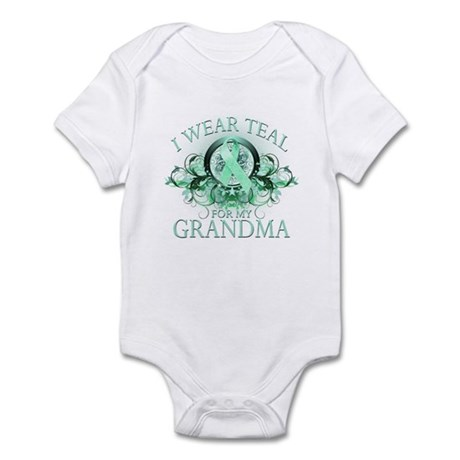 I Wear Teal for my Grandma Infant Bodysuit
