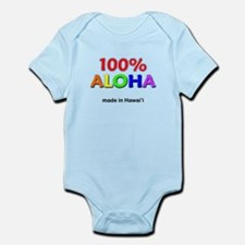 100% Aloha Infant Bodysuit