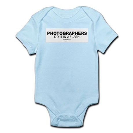 Photographers do it in a flash - Infant Creeper
