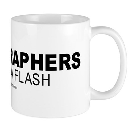 Photographers do it in a flash - Mug