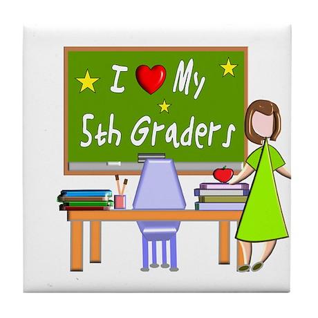 Teachers Tile Coaster