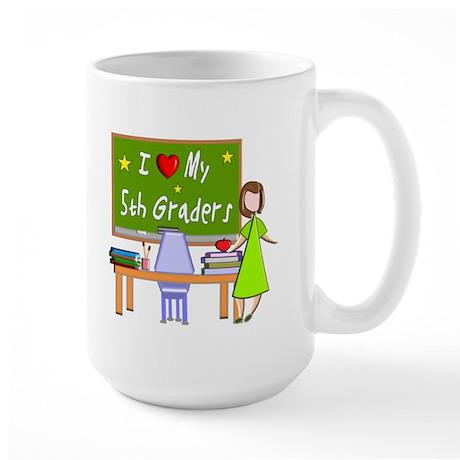 Teachers Large Mug