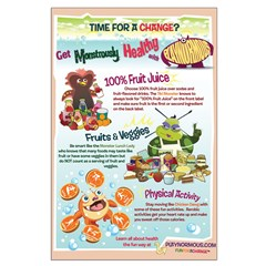 Large Healthy Changes Poster