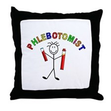 Microbiology/Lab Throw Pillow