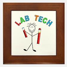Microbiology/Lab Framed Tile
