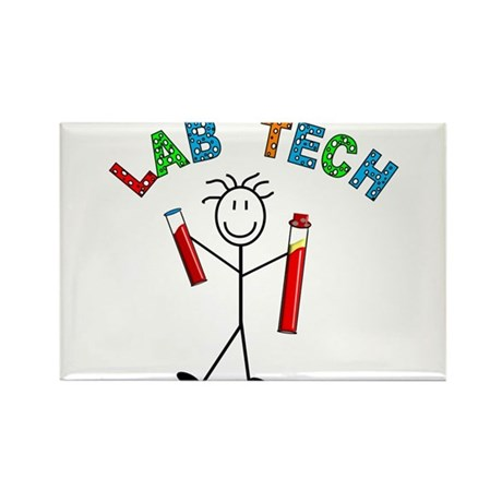 Microbiology/Lab Rectangle Magnet (100 pack)