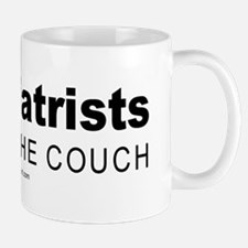 Psychiatrists do it on the couch -  Mug