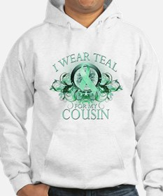 I Wear Teal for my Cousin Hoodie