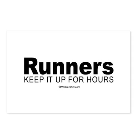 Runners do it for a long time - Postcards (Packag