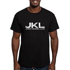 JKL Logo Men's Fitted T-Shirt (dark)