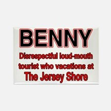 Cute Benny Rectangle Magnet