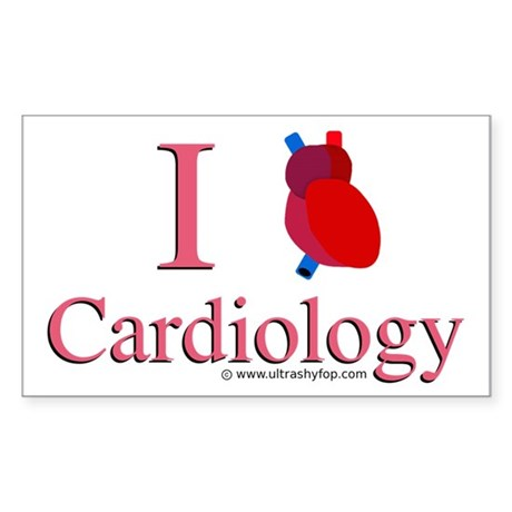 Cardiology Rectangle Sticker