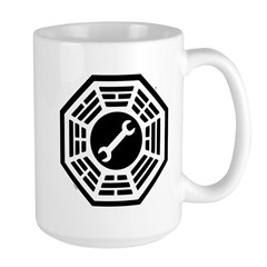 DHARMA Motorpool Large Mug