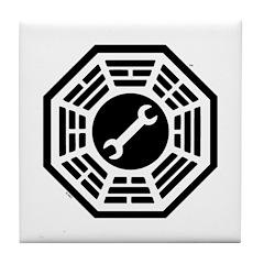 DHARMA Motorpool Tile Coaster