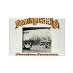 Dominguez High Senior Square Rectangle Magnet (100