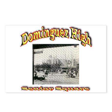 Dominguez High Senior Square Postcards (Package of