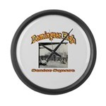 Dominguez High Senior Square Large Wall Clock