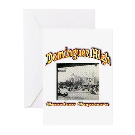 Dominguez High Senior Square Greeting Cards (Pk of