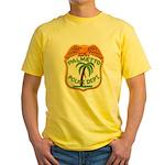 Palmetto Florida Police Yellow T-Shirt