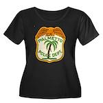 Palmetto Florida Police Women's Plus Size Scoop Ne