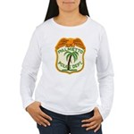 Palmetto Florida Police Women's Long Sleeve T-Shir