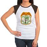Palmetto Florida Police Women's Cap Sleeve T-Shirt