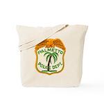 Palmetto Florida Police Tote Bag