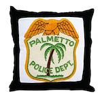 Palmetto Florida Police Throw Pillow