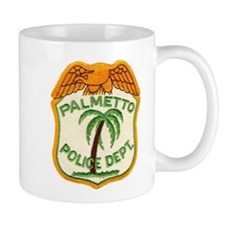 Palmetto Florida Police Mug