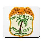 Palmetto Florida Police Mousepad