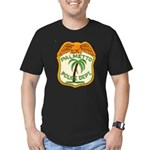 Palmetto Florida Police Men's Fitted T-Shirt (dark