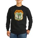 Palmetto Florida Police Long Sleeve Dark T-Shirt